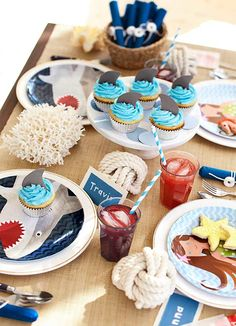 An Under the Sea Birthday Party idea is perfect for summer