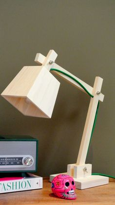 Being able to use your artistic or woodworking skills to earn some extra income is more . Led Garage Lights, Garage Lighting, Cool Lighting, Lighting Ideas, Lamp Design, Wood Design, Study Lamps, Wood Carving Designs, Handmade Lamps