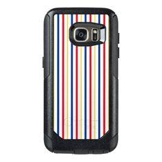 Ice Hockey Rink-Inspired Stripes Phone Case