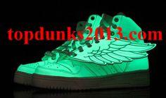 5a2e7eed5af Glow in The Dark Adidas Men Women Originals Jeremy Scott JS Wings Fast  Shipping