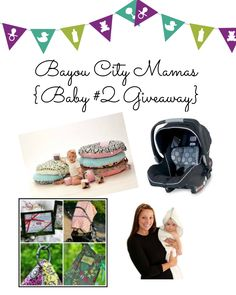 Enter to win everything you need for baby #2 from Bayou City Mamas!   http://www.bayoucitymamas.com/#!giveaways-/c1g37