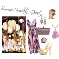 """""""Summer Wedding Guest"""" by cassielewis616 on Polyvore"""