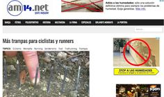 Trampas asesinas, a la caza del deportista #senderismo #trailrunning #ciclismo #seguridad http://blgs.co/2YQyXu
