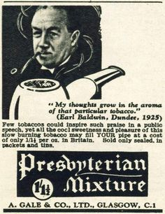 Presbyterian Mixture 1938. Could only be Scottish!