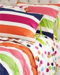 Our beauty wants this set for her room...Morgan & Milo Reversible Comforter and Sham
