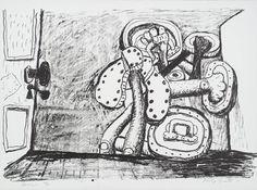 Philip Guston 'Door', 1980 © The Estate of Philip Guston