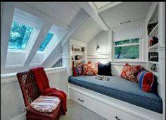 Roofed room design