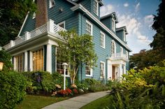 The beautiful Chambered Nautilus Bed and Breakfast Inn in #Seattle