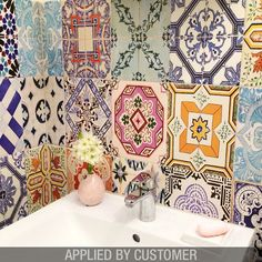 Traditional Spanish Tiles Stickers Tiles By Homeartstickers