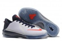 "d0437c204507 Nike Kobe Venomenon 6 ""USA"" White Team Red Basketball Shoes"