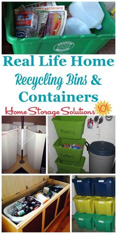 ingenious home recycling bin ideas. Ideas For Home Recycling Bin And Containers  Where To Place Them Create A Center Make It Easy Go Green
