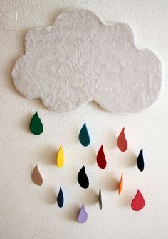 cute for a kids room Diy And Crafts, Crafts For Kids, Sewing Projects, Projects To Try, Idee Diy, Kids Corner, Nursery Inspiration, Creative Activities, Felt Christmas