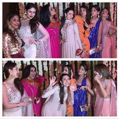 Kareena and Karisma Kapoor, Malaika and Amrita Arora