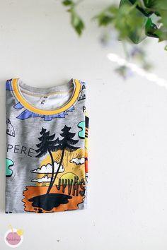 Kuinka huolitella pääntie kaksoisneulalla – Käsityökekkerit Tank Tops, T Shirt, Women, Fashion, Tunic, Supreme T Shirt, Moda, Halter Tops, Tee Shirt