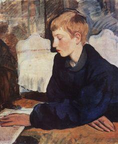 "Zinaida Yevgenyevna Serebriakova,  ""Eugene"", (Portrait of the artist's son), 1917"