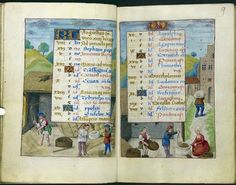 A Calendar Page for August 2012 - Medieval manuscripts blog