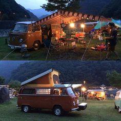 Liked on InstaGram: -  VW BUS Village at dusk. 2  ランタン灯す夕暮れ時って好きだな〜 - #OldVW #AircooledVW #VWbulli #Type2 #BUS #Early #LateBUS #WESTFALIA #VWwesty #VWCamper #CampMobile #Camper #VWバス #ワーゲンバス #タイプ2 #ウエストファリア #ウエスティー #キャンピングカー #キャンパー #アーリー #アーリーバスス #レイト #レイトバス #ゴキゲンワーゲン #Camp #キャンプ #Outdoor #アウトドア