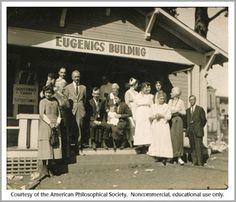 Escritório de Registros Eugênicos - 1910 EUA