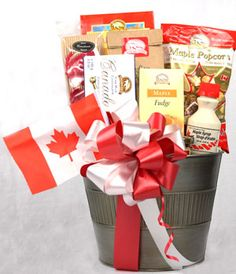 Wedding Gift Basket Canada : 1000+ images about Maple leaf party on Pinterest Maple leaves, Maple ...