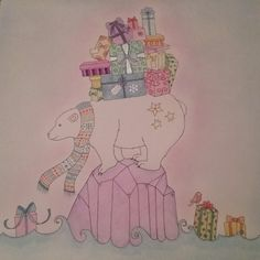 Johannas Christmas Coloring Competition Johannabasford Johannaschristmas Adultcoloring Coloringforadults