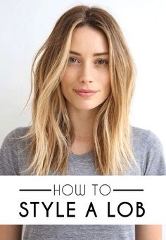 How to Style a Lob (Long Bob) – SOCIETY19