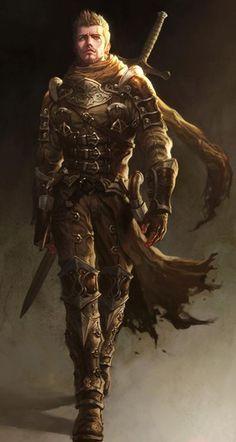 Een Beschermer gebruikt enkel zware, grote wapens gezien hij de monsters uit de buurt van zijn Veer moet houden.