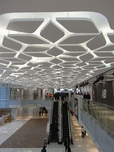 mall interior ceiling