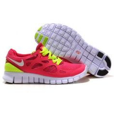 new concept 81ae5 9b756 443815-107 Red Yellow Womens Nike Free Run 2 2013 Free Shoes Running Shoes  Nike