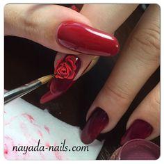 """Курс """"Акриловая лепка на коротких ногтях"""" #ногти #наяда #лепка #лепка_наяда #лепкаакрилом #nayada #manicure #salon_nayada"""