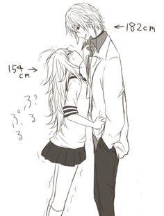 kawaii - La altura no importa, pero llega un momento en la relación que resulta chistoso