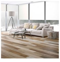 Creating a natural styled base in your home is easy thanks to these porcelain Wayland Mochal Stain Mix Tiles, which have a realistic wood effect design! Ceramic Wood Tile Floor, Wood Effect Floor Tiles, Wood Grain Tile, Faux Wood Tiles, Wood Plank Tile, Wood Tile Floors, Flooring, Floor Tiles For Home, House Tiles