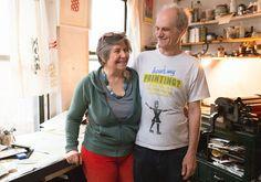 Esther K. Smith und Dikko Faust, Inhaber von Purgatory Pie Press