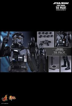 Hot Toys teases the next Star Wars The Force Awakens 1/6 scale action figure in line! Check out The First Order Toe Fighter Pilot!