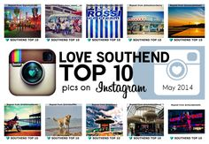 Our TOP 10 Instagrams of ‪#‎Southend‬, uploaded by the users that captured their Southend moments beautifully. Chosen from the hundreds of photos of Southend-on-Sea that have been uploaded to Instagram in May 2014. Check it out at http://www.lovesouthend.co.uk/landmarks-attractions/top-10-instagrams-of-southend-may-2014.html