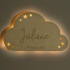 Schlummerlicht Baby Natur Wolke Design Laublust De Laublust Holz Niederrhein Geschenke Personalisiertegeschen In 2020 Wolkenlampe Lampe Kinderzimmer Wolken