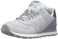 Amazon.com   New Balance Women s WL574 Heathered Elegance Running Shoe,  Silver Mink Steel, 9.5 B US   Fashion Sneakers 83fd6c8c53