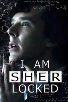 I am SHERlocked. Indeed, I am. #Sherlock