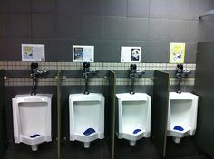 Advertise new books in the bathroom#Repin By:Pinterest++ for iPad#