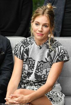 Sienna Miller was putting on a stylish display when she stepped out in the bustling city on Monday, showing off her flair for fashion in a elegant neutral co-ords. Sienna Miller Style, Sienna Miller Hair, The Jeremy Kyle Show, Helen Flanagan, Gemma Atkinson, Easy To Love, Successful Women, Kate Beckinsale, Sexy Hot Girls