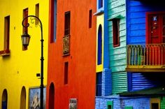 an incredible soccer club and where the tango was invented. an incredible town of La Boca in Buenos Aires Argentine Buenos Aires, Places Around The World, Around The Worlds, Visit Argentina, Planet Design, What A Wonderful World, Architecture, Wonders Of The World, Beautiful Places