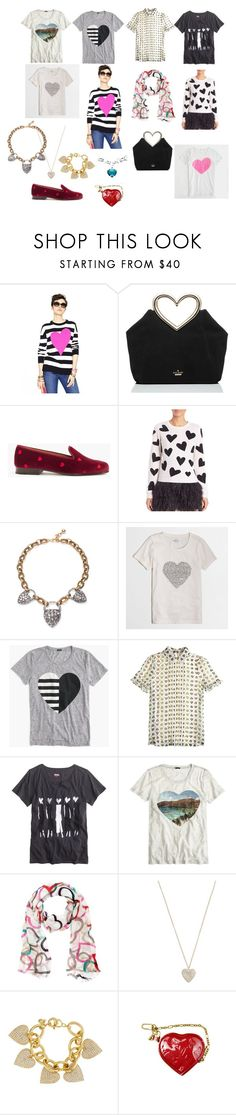 """""""Finishing up Drafts - this one from FEB 2016"""" by bichonluvr on Polyvore featuring Kate Spade, Stubbs & Wootton, Alice + Olivia, J.Crew, David Yurman and Louis Vuitton"""