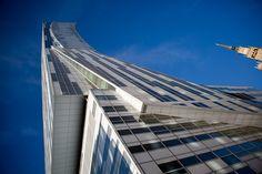 ZŁOTA 44 building #Złota44 #Warsaw #Poland #architecture #skycraper #Libeskind #modernarchitecture