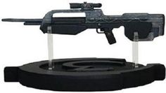 Amazon.com: Halo III BR55 Battle Rifle Scaled Replica: Toys & Games