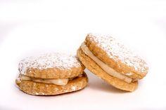 Salted Caramel Sandwich Cookies