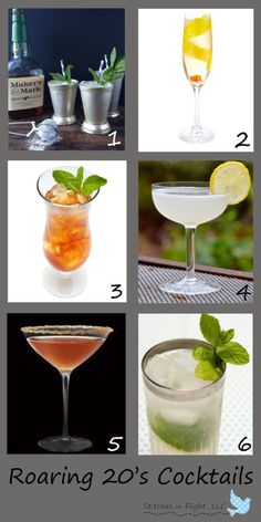 Host a Roaring 20's party to celebrate the 80th anniversary of the repeal of the prohibition on December 5th.  (1920's drink recipes)