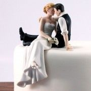 Figurine les mariés assis face a face