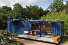 Casas hechas con containers