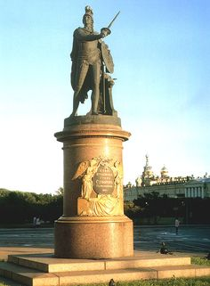 Monument to one of Russia's greatest generals, #Alexander #Vasilyeich #Suvorov (1730-1800)--Saint #Petersburg, #Russia http://VIPsAccess.com/luxury-hotels-dubai.html