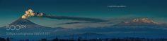 The Mexican Volcanoes in the morning by CristobalGarciaferroRubio via http://ift.tt/2i0hSIm