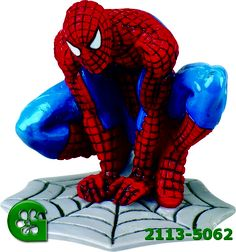 Wilton item number 2113-5062. Visit www.GalesWholesale.com for more information. The Amazing Spider-Man  Party Toppers - 5 1/8in h. Zoe Cake, Spiderman Cake Topper, Wilton Cake Decorating, Edible Cake Toppers, Amazing Spiderman, Man Party, Superhero, Item Number, Fictional Characters